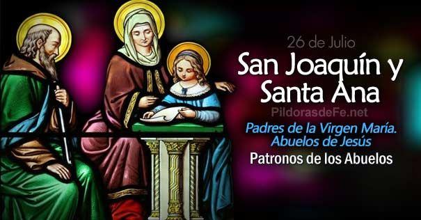 Estos santos esposos, debieron haber sido personas muy piadosas ya que les fue confiado la responsabilidad de criar a María la Madre de Dios