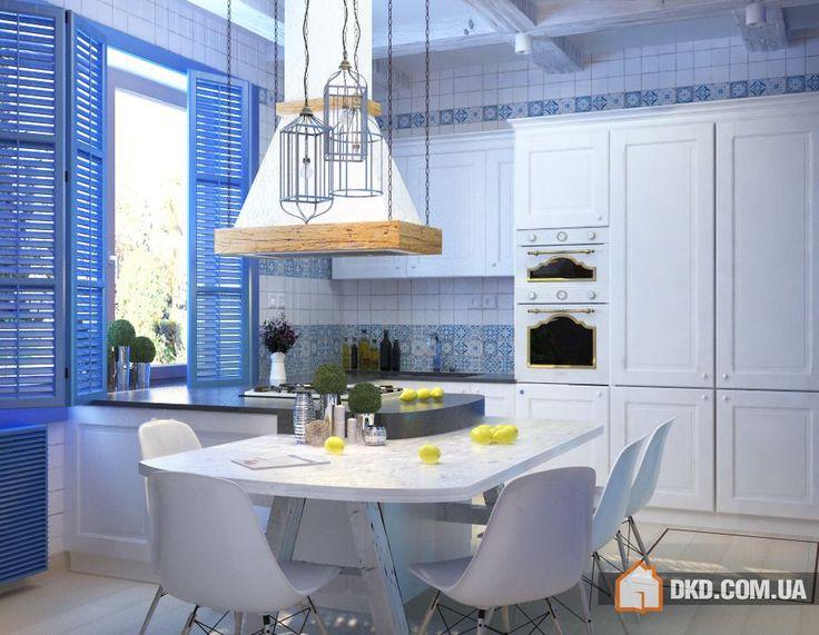 средиземноморский стиль в интерьере кухни фото: 26 тыс изображений найдено в Яндекс.Картинках