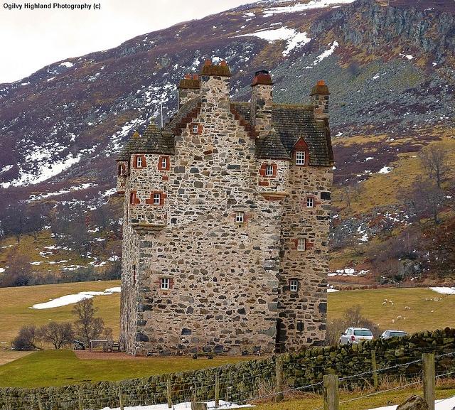 Forter Castle Glenisla Angus by Ogilvy Highland Photography, via Flickr