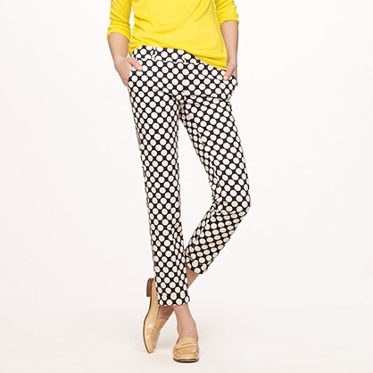 Cafe Capri in Pop Art Polka Dot. These are a massive YES. i love it styled with the yellow sweater as well.