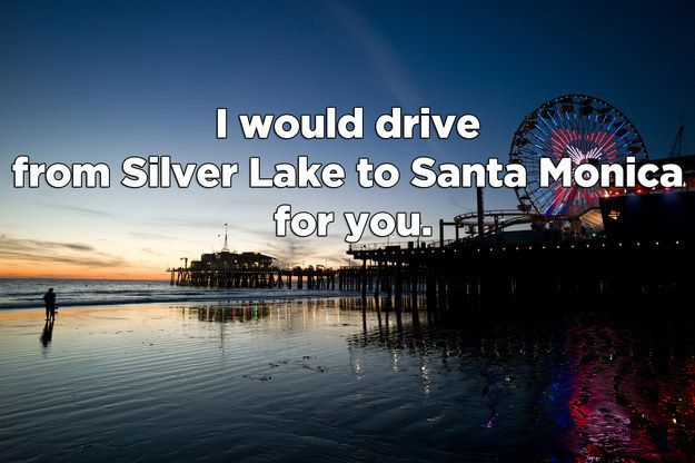 18 Pickup Lines That Would Only Work In L.A