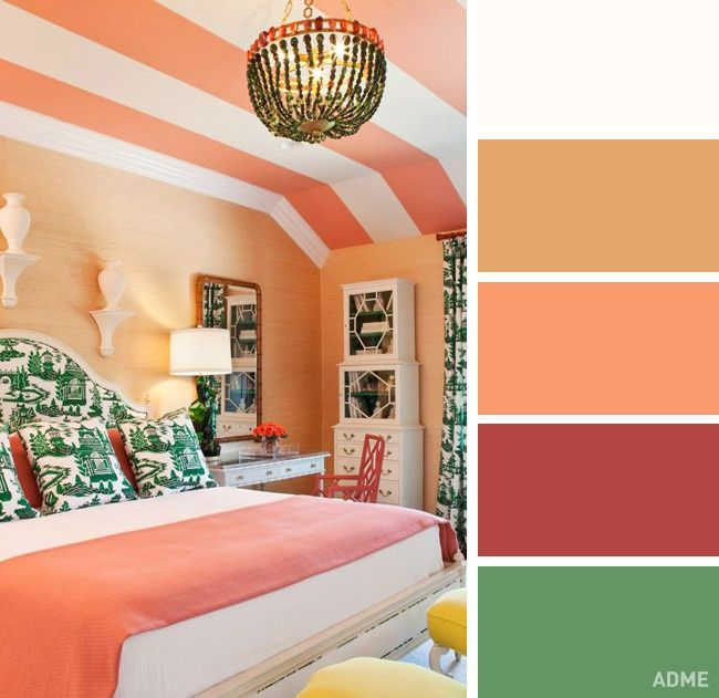 20 perfect color dkbination in bedroom interior - @fornomen
