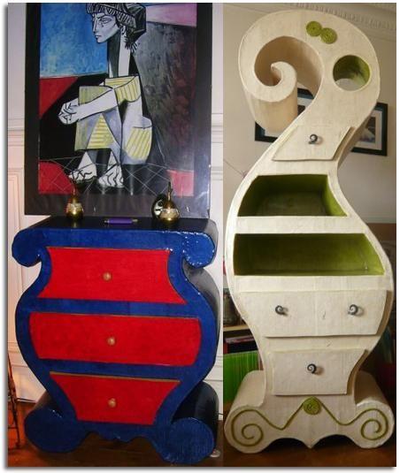 muebles artesanales muebles hechos muebles en muebles de carton con