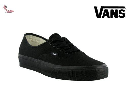 Vans - Chaussures U authentique noir / noir, EUR: 46, Black/Black - Chaussures vans (*Partner-Link)