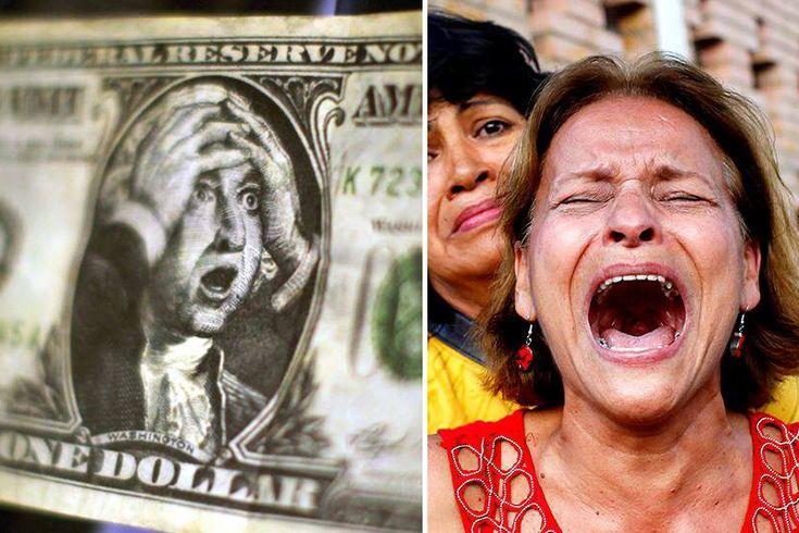 ¡LO QUE VIENE ES CANDELA! Economistas prevén que dólar paralelo se dispare en abril - http://wp.me/p7GFvM-Dl7