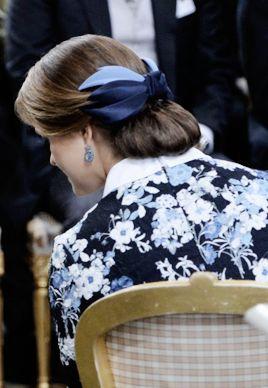 Princess Madeleine's hairstyle at Prince Alexander's christening