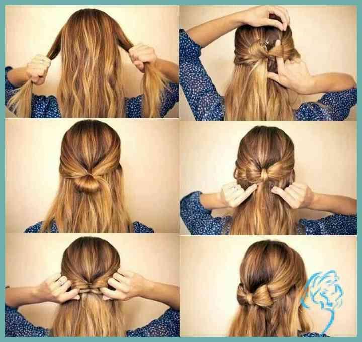 Schleife Aus Haaren Hair In 2019 Hair Styles Hair Und Pinterest Damen Frisuren Pinterest Frisuren Frisur Ideen Lange Haare