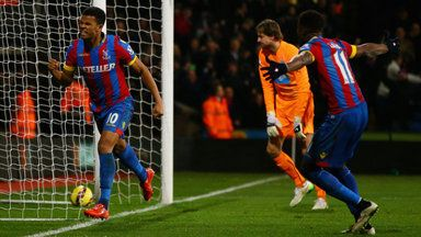 Palace make point for Pardew