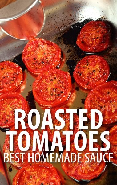 Rachael Ray said that Roasted Tomatoes bring them alive in this sauce with garlic and red peppers, served over pici pasta for a flavorful meal year round. http://www.recapo.com/rachael-ray-show/rachael-ray-recipes/rachael-ray-roasted-tomato-garlic-red-pepper-sauce-recipe-pici/