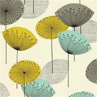 Sanderson Wallpaper - Dandelion Clocks