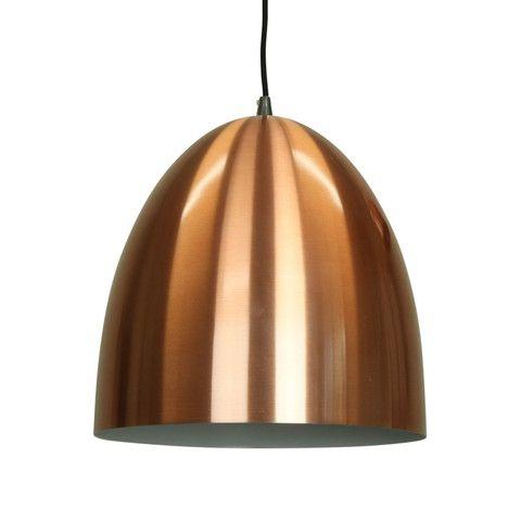Copper Pendant Lights - Plutus Copper Pendant Light   SHE Lights
