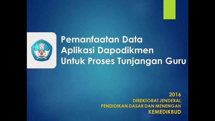 Studi Kasus DAPODIKDASMEN dalam Info GTK (Validasi)