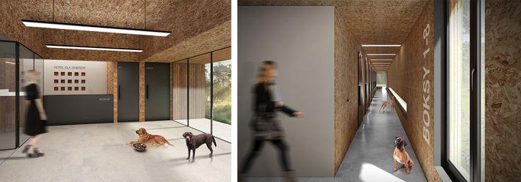 Hotel dla zwierząt / ddArchitekci – nowoczesna STODOŁA   wnętrza & DESIGN   projekty DOMÓW   dom STODOŁA