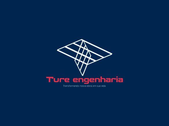 Criação de logotipo, cartão de visita e papel timbrado para a empresa de engenharia.