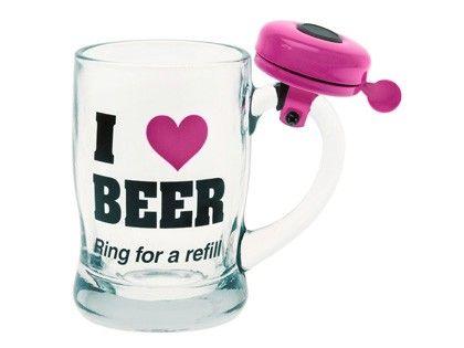 Kufel  I Love Beer #present #time ♥ www.pt-store.pl