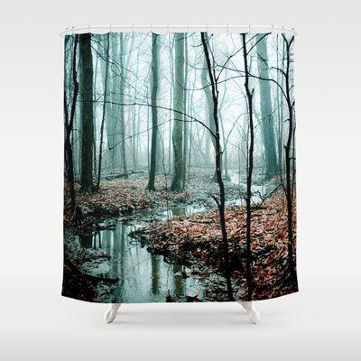 Hooks metal shower Asian black curtain