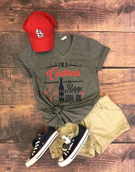 St. Louis Cardinals, Cardinals, beer and baseball, baseball shirt, unsiex tee, baseball