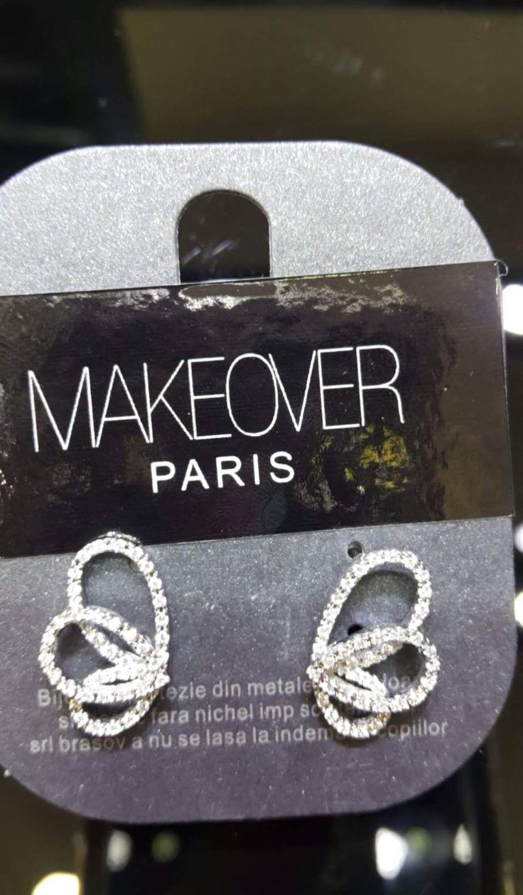 Butterfly earrings. Makeover Paris, produse, cosmetice, bijuterii. #jewelry #jewels #fashion #gems #accessories #beautiful #stylish