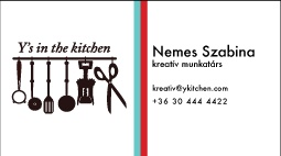 Y's in the kitchen print by Szabina Nemes, via Behance