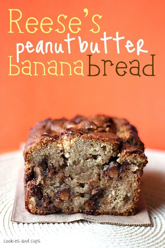 Wow, Reese's peanut butter banana bread- Good, fun recipe, but I think
