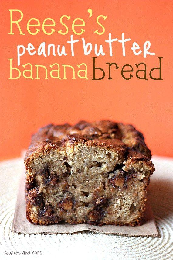 Reese's PB Banana Bread