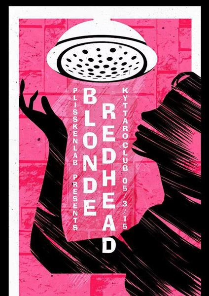 Blonde redhead posters