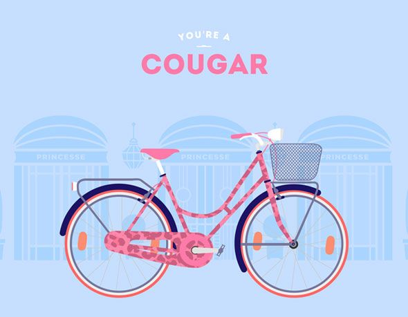 You are what you ride l #cyclemon #illustration