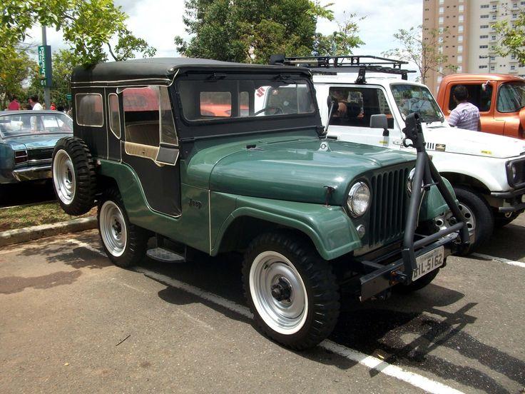 Jeep Willys 1954 >> Jeep Willys CJ5 1954 | Jeep! | Pinterest