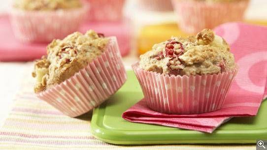 Muffins aux poires et aux canneberges: ingrédients, préparation, trucs, information nutritionnelle