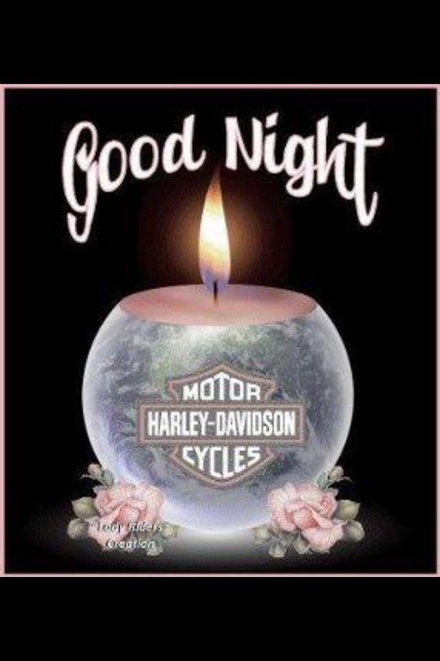 Good night | Harley Davidson!!! | Pinterest | Night and