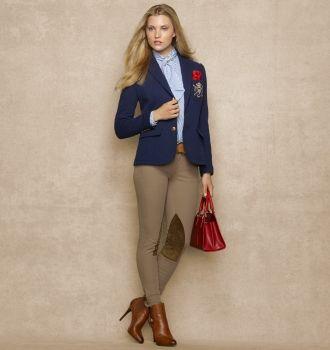 Ralph Luaren Stretch-Flannel Custom Blazer &  Palermo Hudson Twill Jodhpur