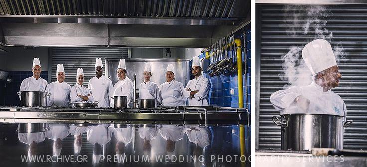 Φωτογράφιση σεφ σε κουζίνα