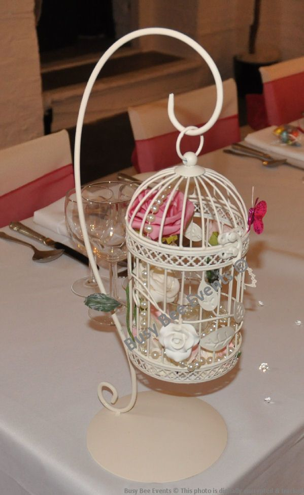 Birdcages Table Centerpieces Table Centerpieces