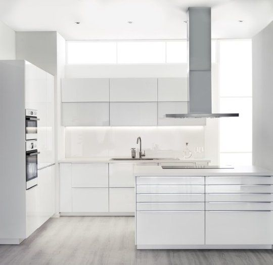 Ikea Kitchen White Gloss ikea kitchens - destroybmx