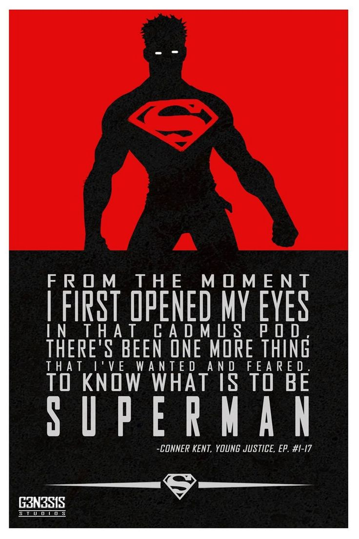 Superboy quote
