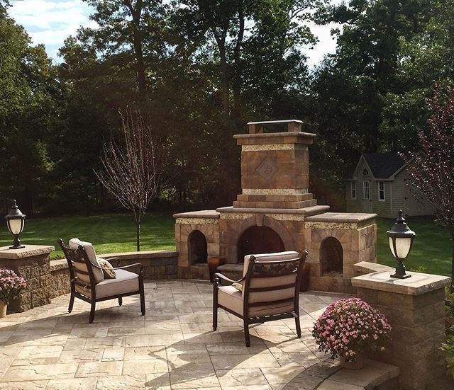 141 best Cambridge Outdoor Fireplaces images on Pinterest