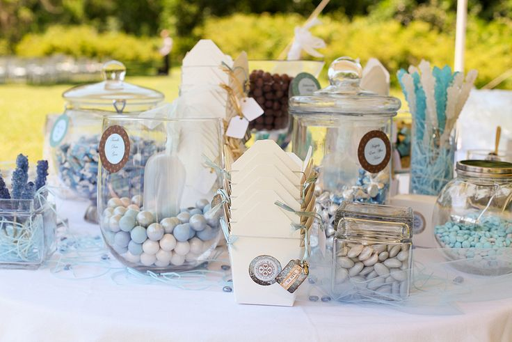 18 Totally Sweet Wedding Candy Buffet Ideas:  #12. Going for something a little more pastel than goth? Candy is so diverse.