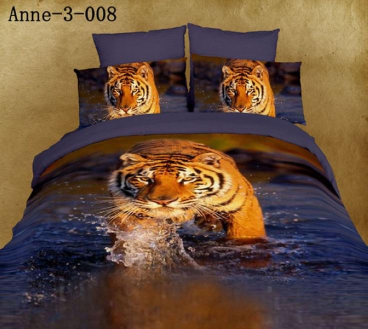 16 best images about 3d wild animals design bedding set on for Wild bedding