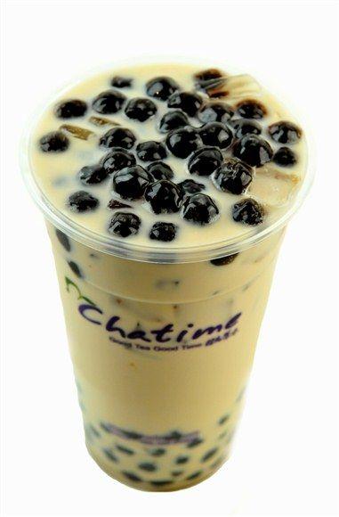 Chatime Pearl Milk Tea | Get | Pinterest