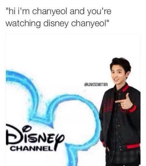 Disney 'chanyeol' haha