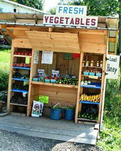 farm stand - Google Search                                                                                                                                                                                 More