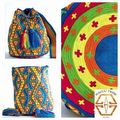 Hoe haak je een look-a-like van een Wayuu Mochila-tas?