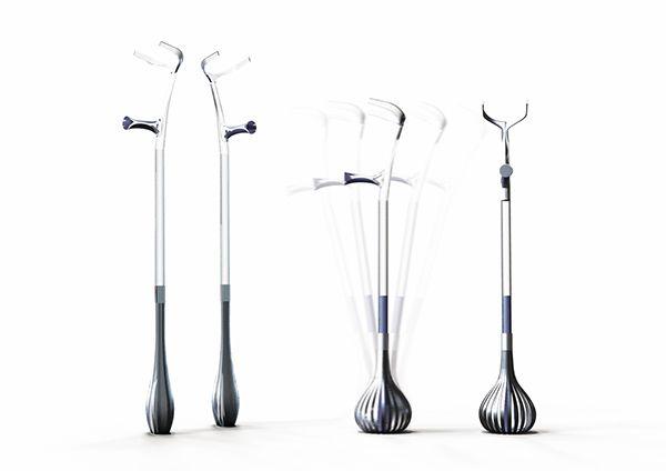 Crutches on Behance