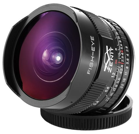 Объектив Зенит МС Зенитар-C 16 mm F/2.8 Fisheye для Canon новый дизайн  ―  Fotofishka.ru - интернет магазин фототехники