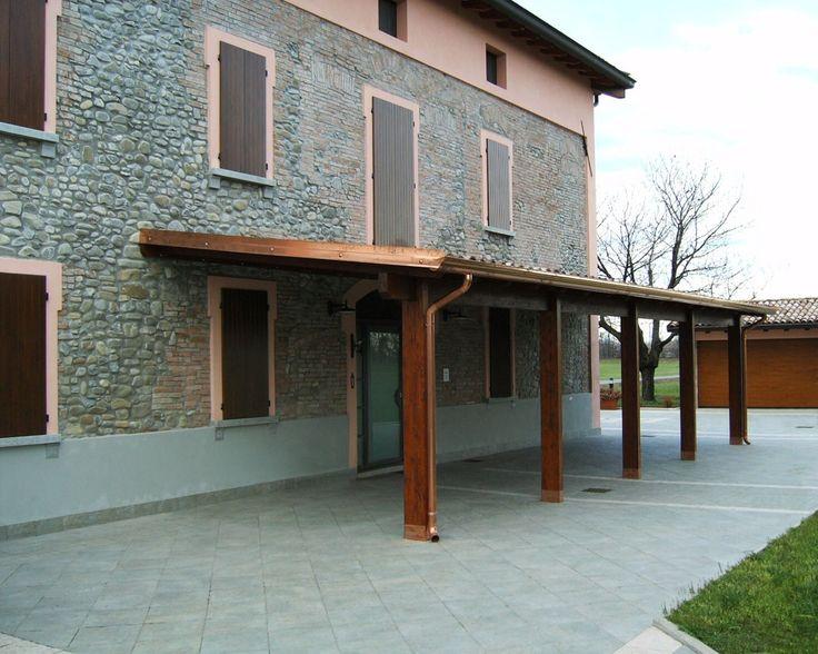 Oltre 25 fantastiche idee su soffitto della veranda su for Colonne di portico di casa