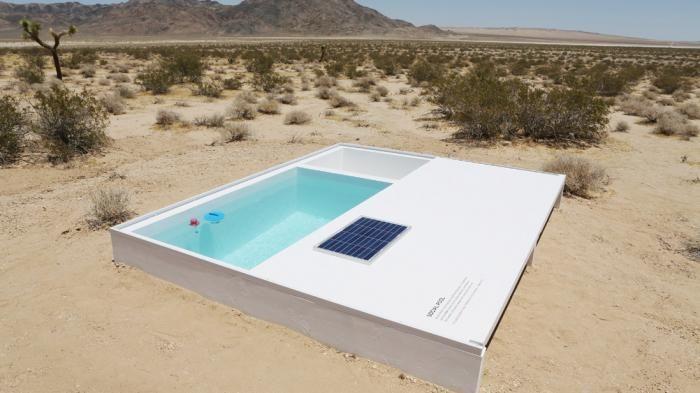 Social Pool - Yuk Main Petak Umpet! Temukan Kolam Renang di Tengah Gurun Pasir