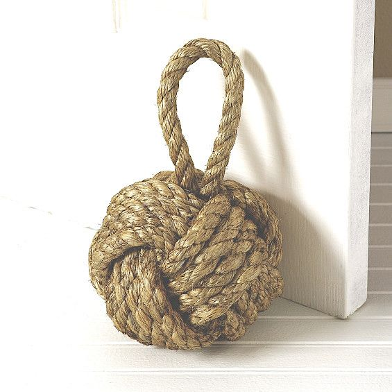 Captain's Knot Door Stopper