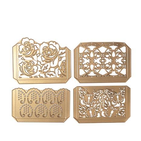 Shop Anna Griffin® Cuttlebug™ Pretty Pocket 4-piece Cut and Emboss Die Set 8299702, read customer reviews and more at HSN.com.