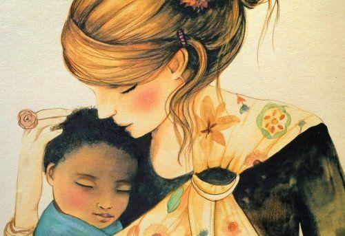 Los niños necesitan tus abrazos para sentirse parte del mundo Y adolescentes y adultos de la familia también ...  :-)