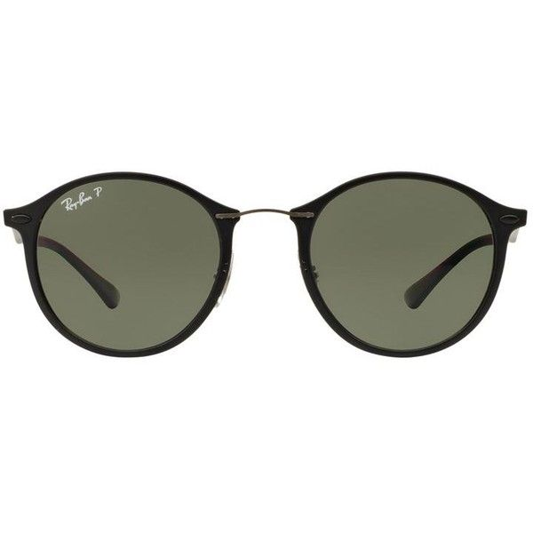 ray ban round sunglasses cad liked on polyvore featuring accessories eyewear sunglasses